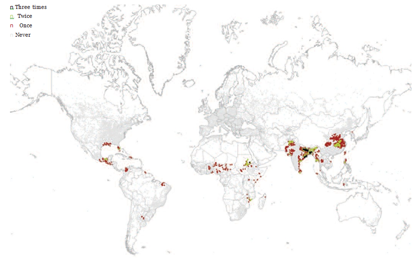 Fig 1 Flooded cities