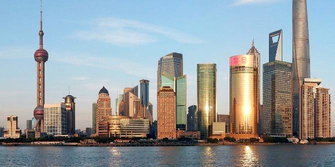 Pudong Skyline-Shanghai)