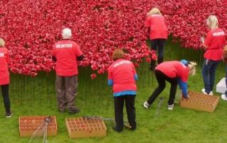 volunteers London