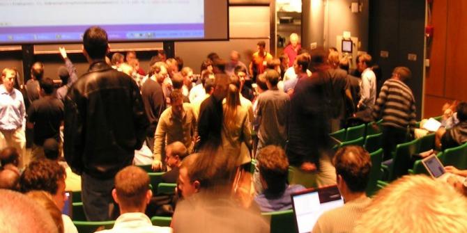 VC crowd