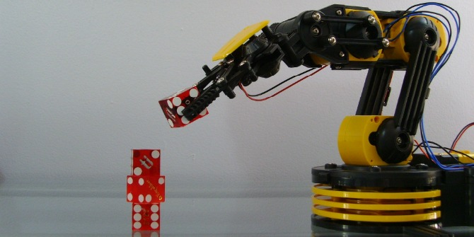 The idea of robots as independent machines is science fiction