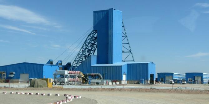 Mongolia - copper mine