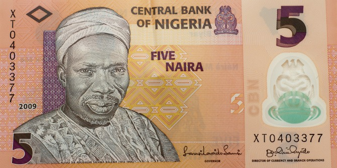 Nigerian money