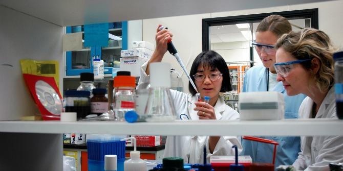 women bioscientists