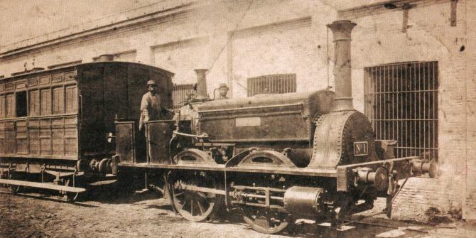 Early British railways in Argentina were not 'British' alone