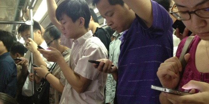 The Chinese have transitioned directly to a mobile-only era