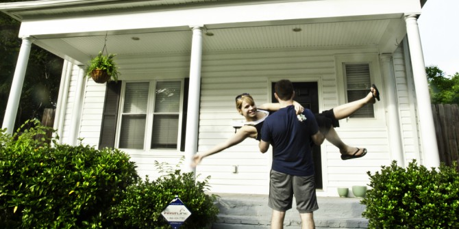 Home ownership is falling faster for young people whose parents didn't own a house