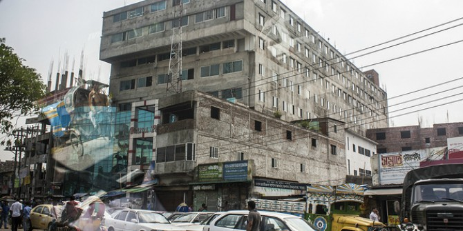 Why were Western retailers blamed for the building collapse in Bangladesh?