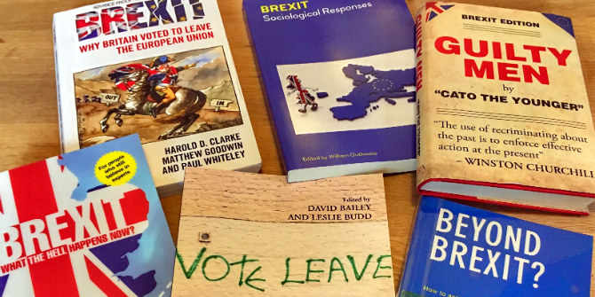 Reading List: A Brexit Summer Reading Guide