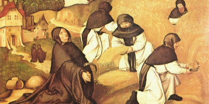 Weber may have been wrong in tracing the hard work ethic to Protestantism