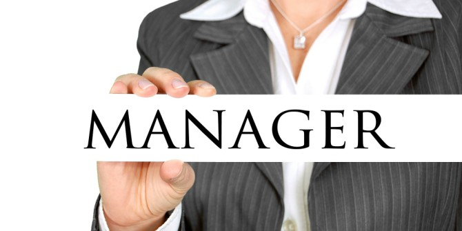 Job satisfaction differs between men and women after they're promoted to managers