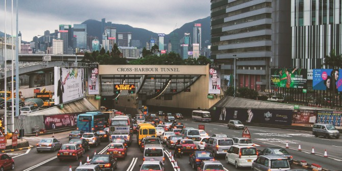 "Hong Kong's once-vibrant economy has ""gone sideways"""