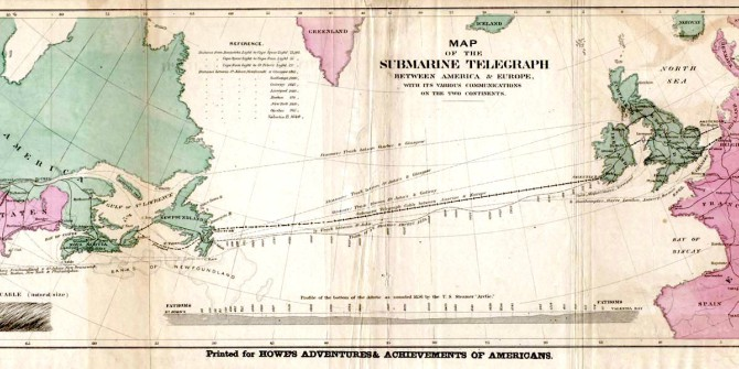 The trade impact of the transatlantic telegraph