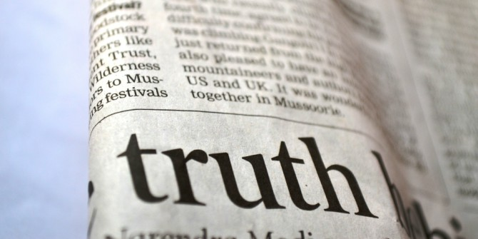 Post-Truth: Why We Have Reached Peak Bullshit and What We Can Do About It – Book Review