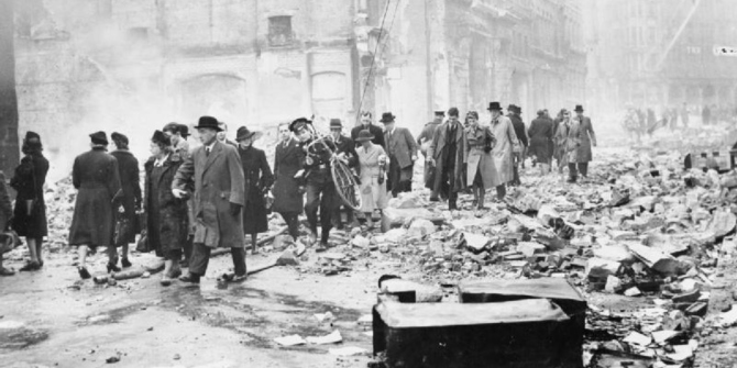How the Blitz enhanced London's economy