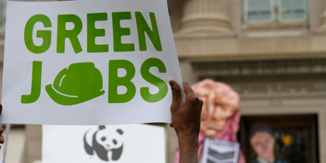 What are green jobs and where are they?