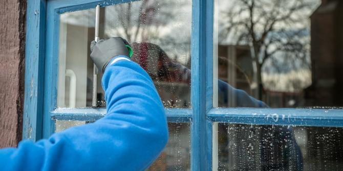 The flip side of segregation: men in typically female jobs