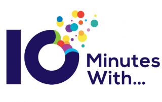 10 minutes with logo