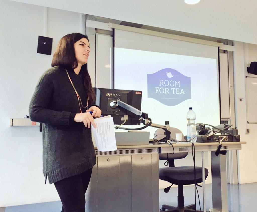 Milena Bottero at a recent LSE Generate social enterprise event