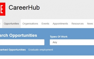 PhD job search on CareerHub