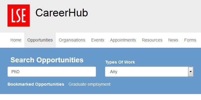 Internships, work experience and short term opportunities for PhD students to apply for NOW!
