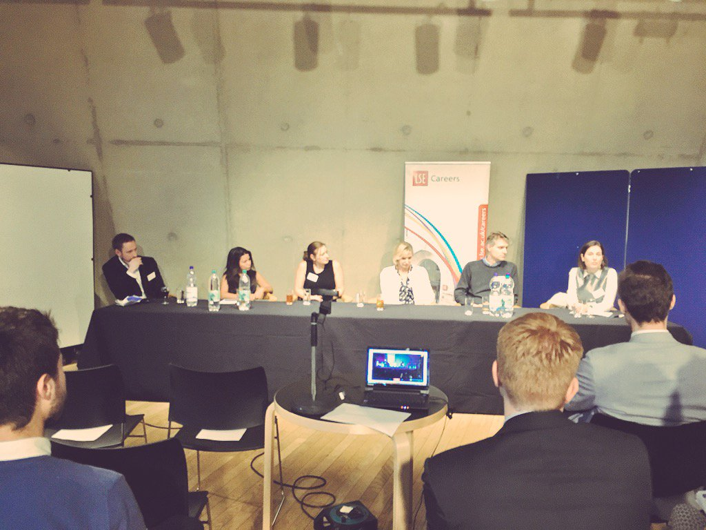 LSE Careers corporate to not-for-profit panel