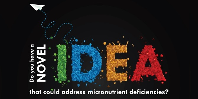 Elevator pitch competition – the future of micronutrient innovation
