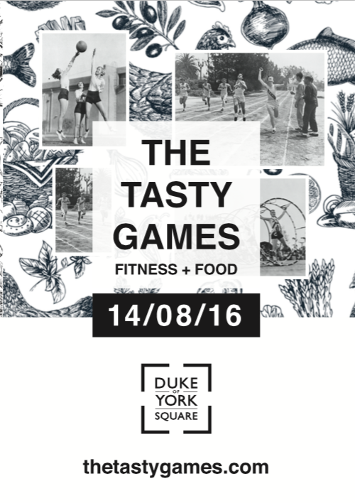 The Tasty Games poster