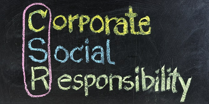 corporate social responsibility lse careers blog per nk · gallery