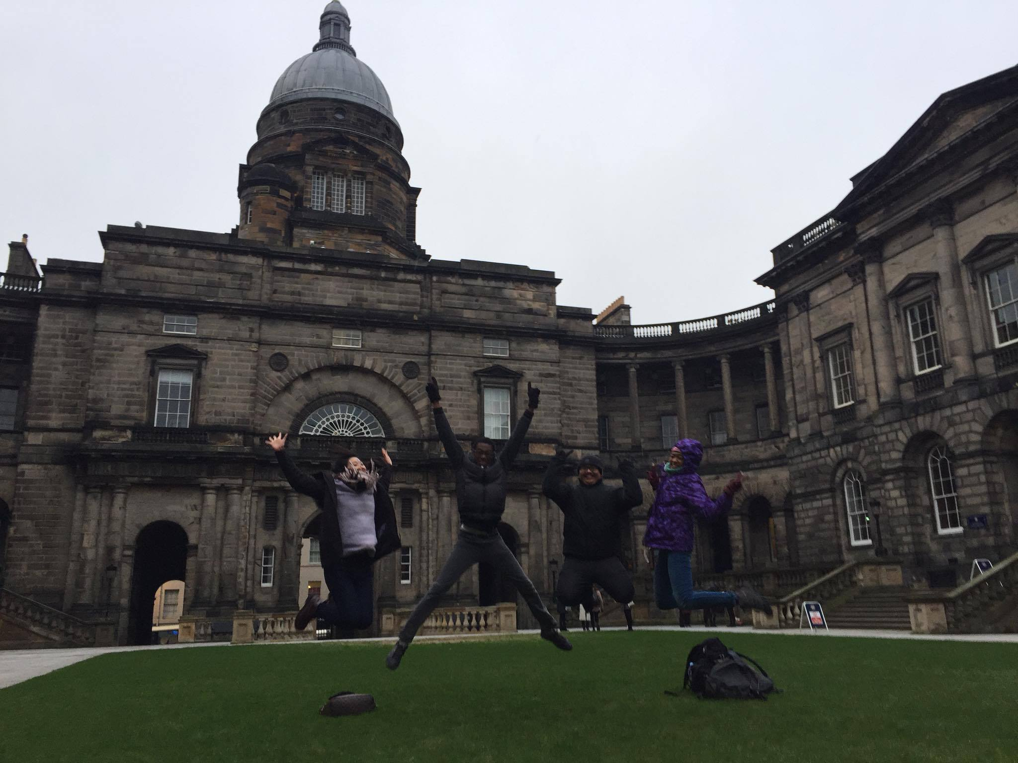 celebration-after-volunteer-event-in-edinburgh-scotland