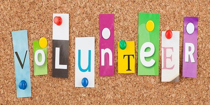 Volunteering roles of the week