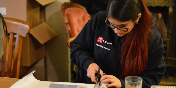 Charities satisfied with the impact of LSE student volunteers