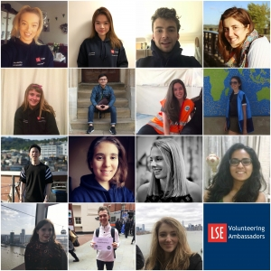 Student Volunteering Ambassadors photo collage