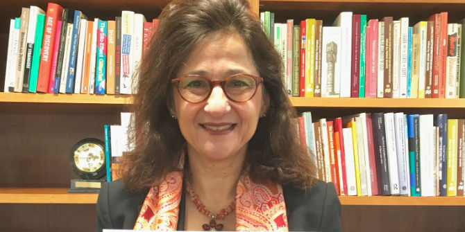 LSE director Dame Minouche Shafik volunteered with FareShare during the Christmas break