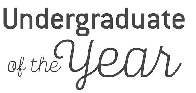 Undergraduate of the Year Awards