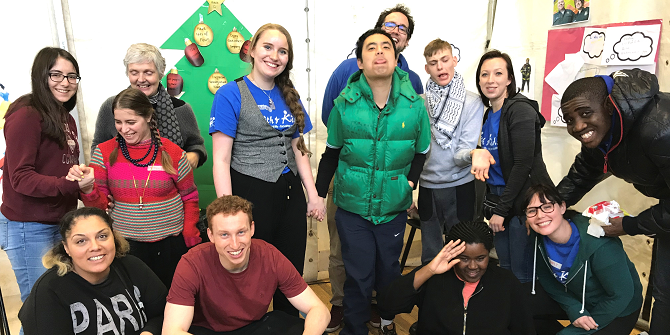Guest blog by Fergus Deery: Volunteering with Kith & Kids over Christmas