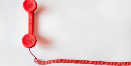 Pick up the phone: cold calling organisations