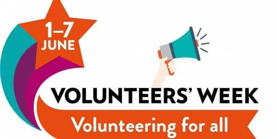 Volunteer's Week, 1-7 June