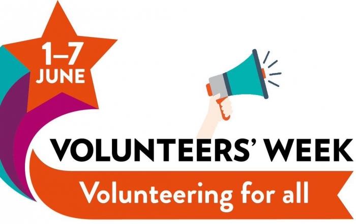 Volunteer's Week, 1-7 June