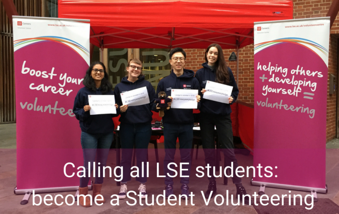 Why you should become a Student Volunteering Ambassador