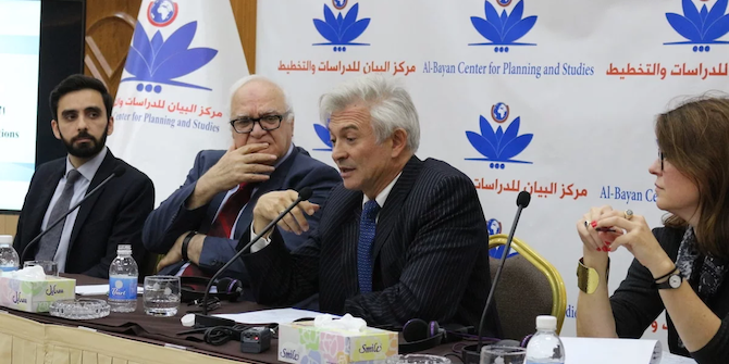 The Conflict Research Programme–Iraq's research trip to Baghdad and Ramadi, December 2018