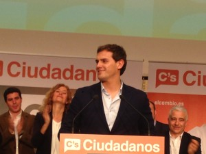 Albert Rivera and Irene Rivera