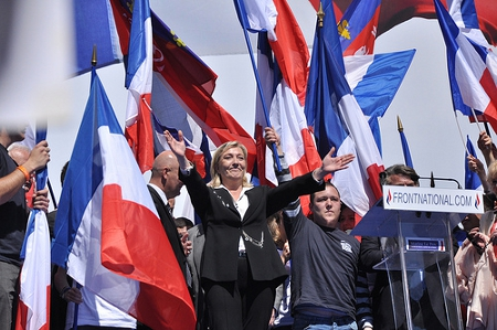 Front National leader Marine le Pen Credit: Blandine LC(Creative Commons BY)