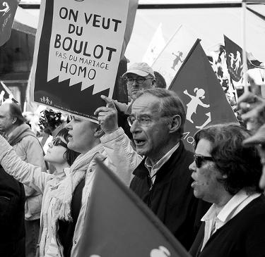 Manif Pour Tous march