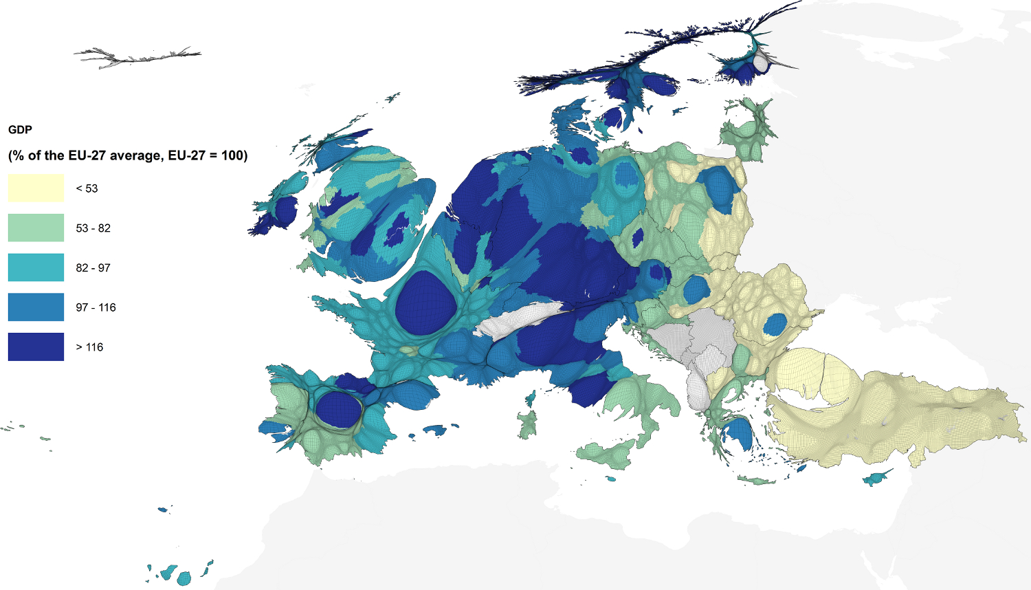 A Europe Of Cities And Regions New Europeans - Germany nuts 3 map