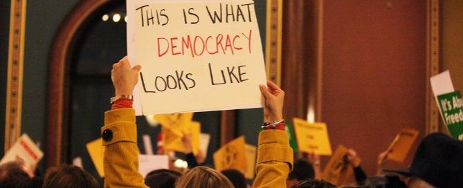 thisiswhatdemocracylookslike