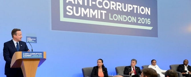 anticorruption summit cameron