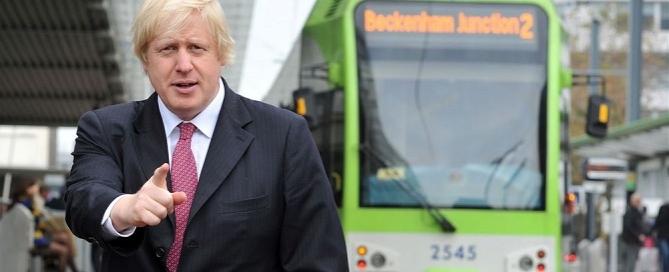 boris johnson bus