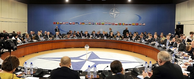 Ministers of Defense and Foreign Affairs meeting at NATO headquarters in Brussels, Credit: Public Domain