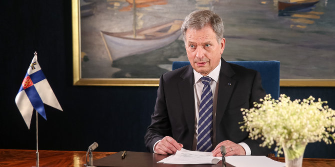 Continuity in Finland as Sauli Niinistö is re-elected as President